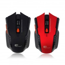 Rato óptico 2.4Ghz  wireless Gaming para PC / Portátil