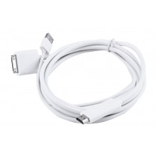Adaptador HDMI HDTV TV USB para iPhone 4 4S e iPad 2 3 4