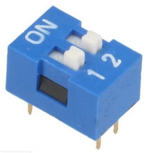 Dip Switch 4 Pinos - 2 Selectores