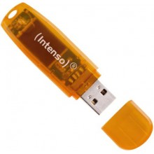 Pendrive Intenso Rainbow Orange 64GB USB 2.0