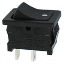 Interruptor Mini ON-OFF SPST 1C, 2P - 250V 6A
