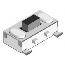 Tact Switch SMD OFF<->ON [3,4x7x(3,5)mm] 12VDC 50mA