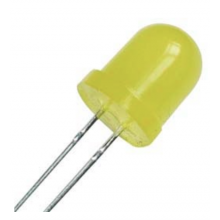 Led Amarelo 8mm